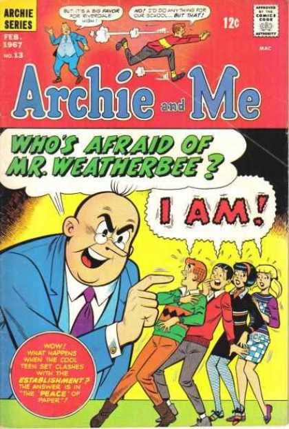 Archie and Me A1 Comix Comic Book Database
