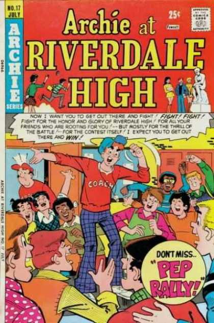 Archie at Riverdale High A1 Comix Comic Book Database