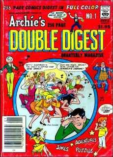 Archie's Double Digest Comic Book Back Issues by A1 Comix