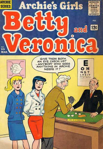 Archie's Girls Betty and Veronica A1 Comix Comic Book Database