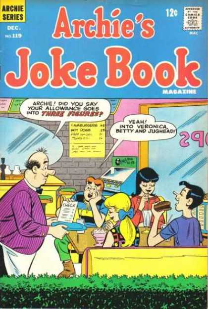 Archie's Joke Book A1 Comix Comic Book Database