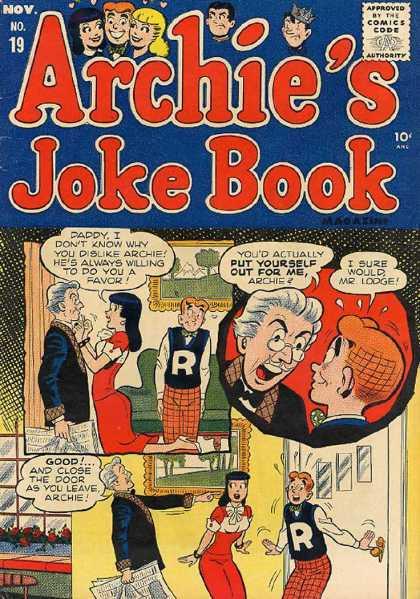Archie's Joke Book A1 Comix Comic Book Database