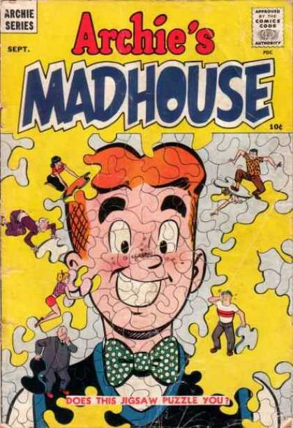 Archie's Mad House Comic Book Back Issues by A1 Comix