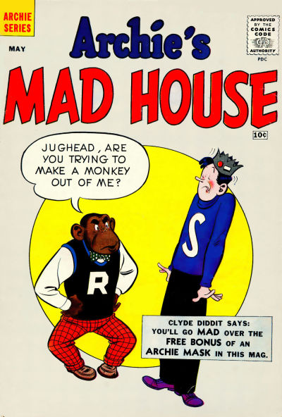 Archie's Mad House A1 Comix Comic Book Database