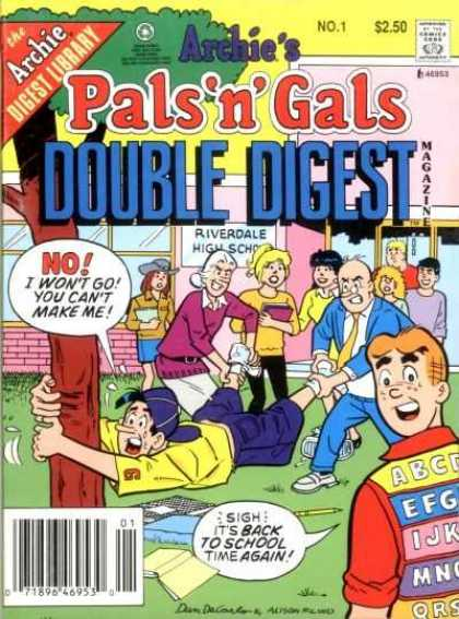 Archie's Pals 'n' Gals Double Digest Comic Book Back Issues by A1 Comix
