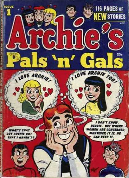 Archie's Pals 'n' Gals Comic Book Back Issues by A1 Comix