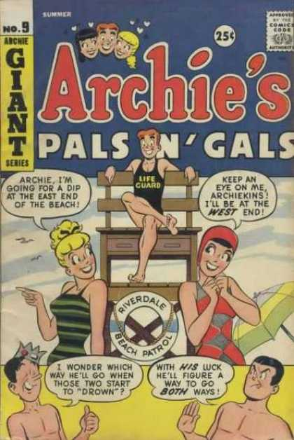 Archie's Pals 'n' Gals A1 Comix Comic Book Database