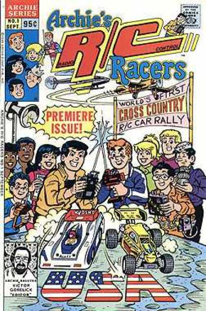 Archie's R/C Racers Comic Book Back Issues by A1 Comix