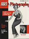 Art Photography November 1956 magazine back issue cover image