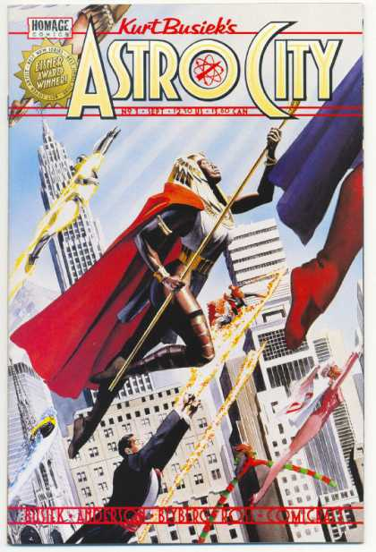 Kurt Busiek's Astro City Comic Book Back Issues by A1 Comix