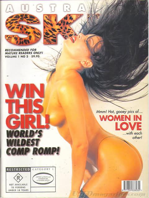Australian Skin Vol. 1 # 3 magazine back issue Australian Skin magizine back copy