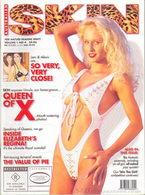 Australian Skin Vol. 1 # 4 magazine back issue Australian Skin magizine back copy