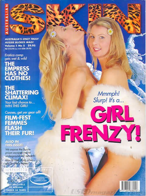 Australian Skin Vol. 1 # 5 magazine back issue Australian Skin magizine back copy
