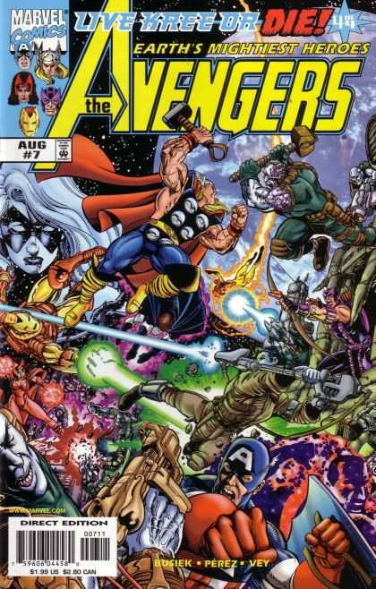 Avengers 1998 A1 Comix Comic Book Database