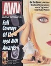 Jenna Jameson magazine cover Appearances AVN March 1996