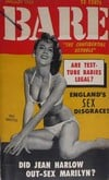 Bare January 1956 magazine back issue