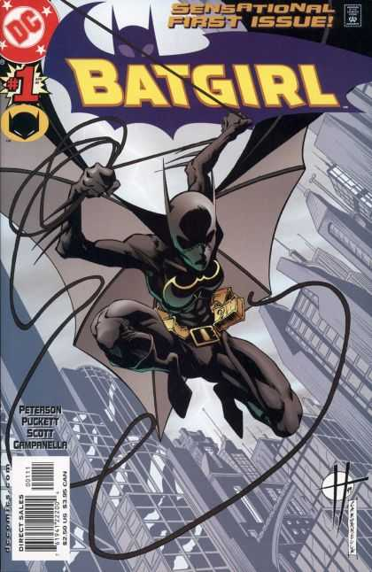 Batgirl Comic Book Back Issues by A1 Comix