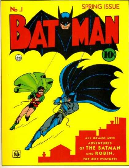 Batman Comic Book Back Issues by A1 Comix