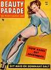 Beauty Parade March 1950 magazine back issue
