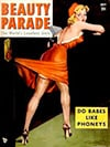 Beauty Parade July 1950 magazine back issue