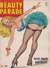 Beauty Parade July 1951 magazine back issue