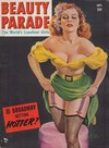 Beauty Parade September 1951 magazine back issue