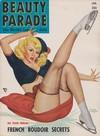 Beauty Parade January 1952 magazine back issue