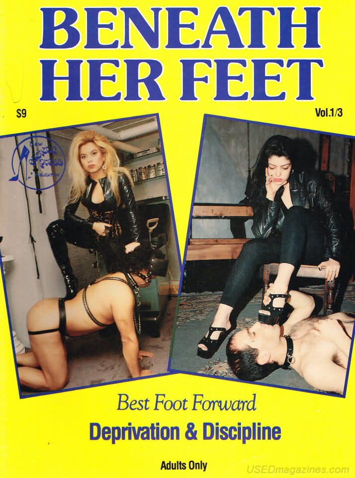 Beneath Her Feet Vol. 1 # 3 magazine back issue Beneath Her Feet magizine back copy