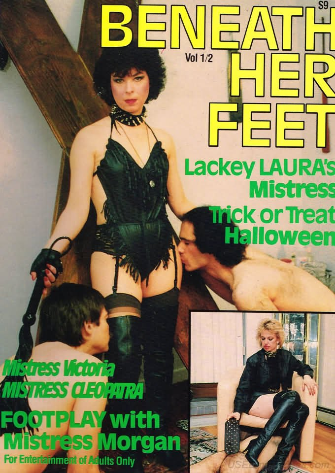 Beneath Her Feet Vol. 1 # 8 magazine back issue Beneath Her Feet magizine back copy