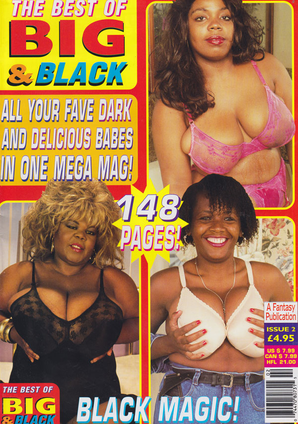 Best of Big & Black # 2 magazine back issue Best of Big & Black magizine back copy the best of big & black magazine 1997 back issues hot dark and delicious babes huge tits naughty ero