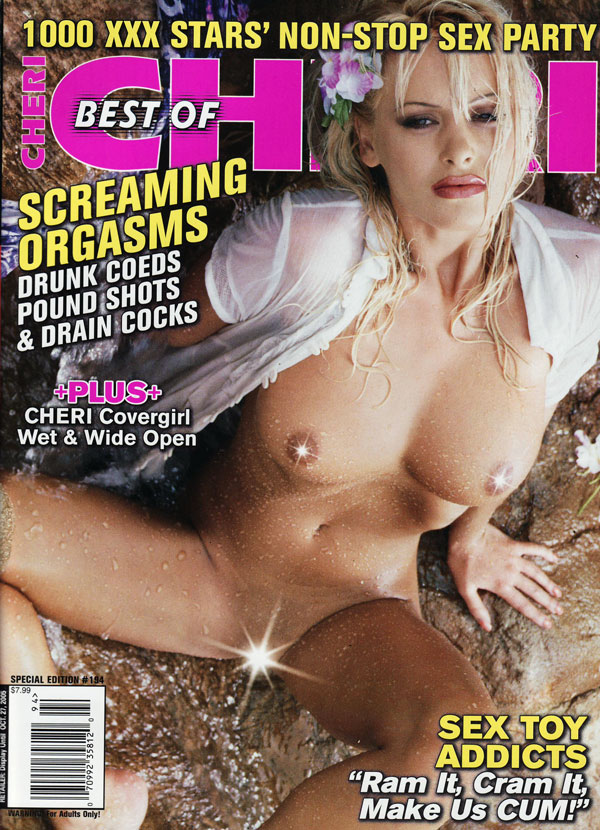 The Best of Cheri # 194 magazine back issue Best of Cheri magizine back copy hore cunt sluts best of cheri magazine, collector's edition, back issues, hot sexy girls naked, nude