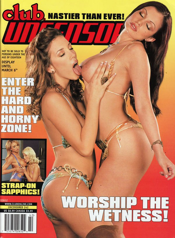 The Best of Club # 242 magazine back issue Best of Club magizine back copy best of club encensored nastier than ever streap-on sapphics hard horny zone