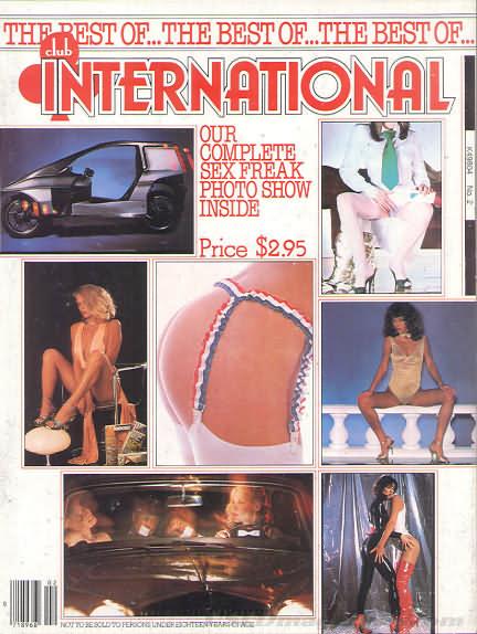 Best of Club International, The # 2 magazine back issue Best of Club International magizine back copy