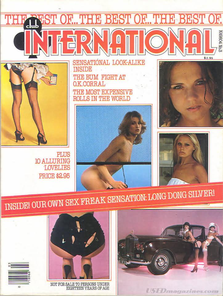 Best of Club International, The # 3 magazine back issue Best of Club International magizine back copy