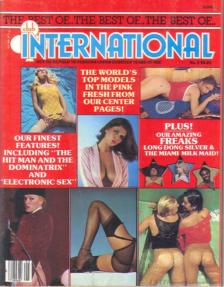 Best of Club International, The # 5 magazine back issue Best of Club International magizine back copy