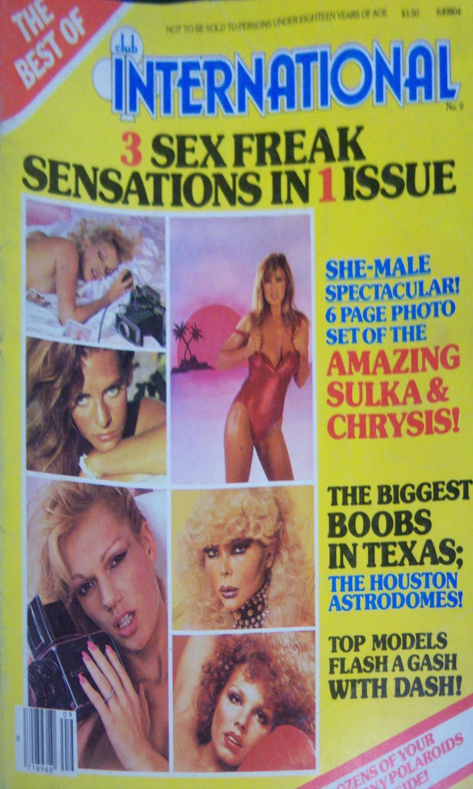 Best of Club International # 9 magazine back issue Best of Club International magizine back copy