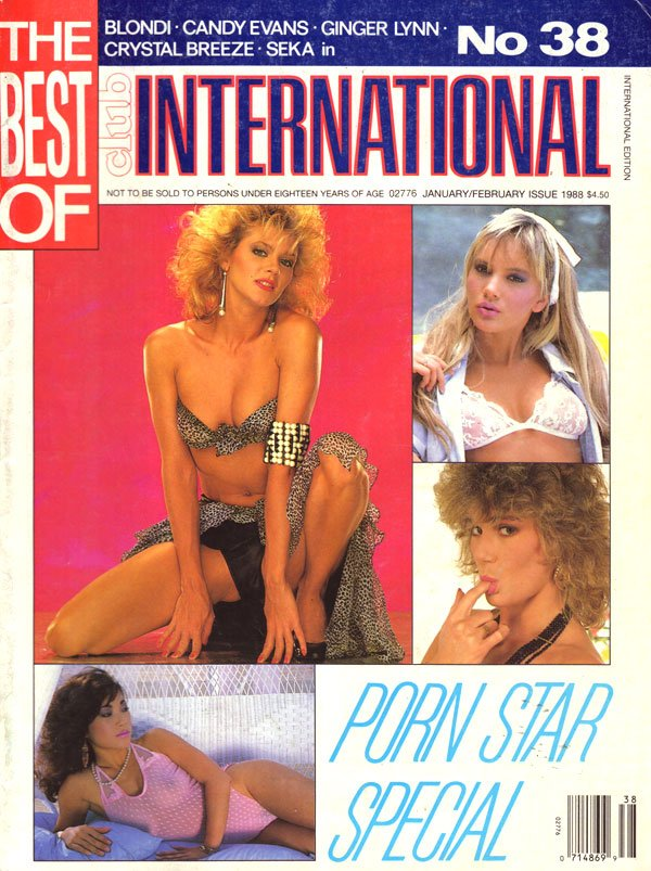 Best of Club International # 38 magazine back issue Best of Club International, The magizine back copy best of club international back issues 1988 hot sexy nude pictorials xxx photos seka horny lesbian s