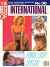 Ginger Lynn magazine cover  Best of Club International # 38
