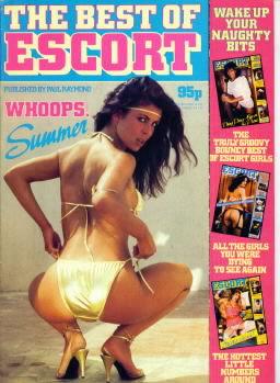 Best of Escort # 4 magazine back issue Best of Escort magizine back copy