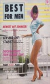 Best for Men August 1965 magazine back issue