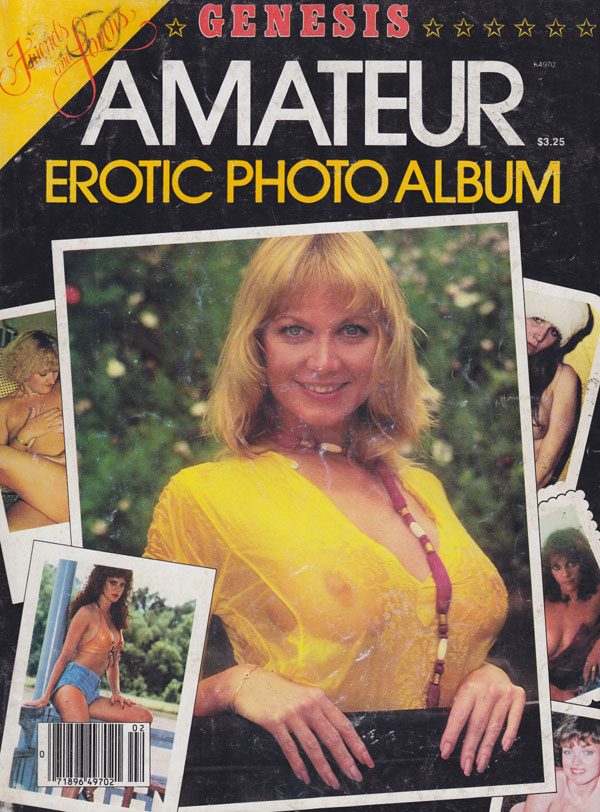 Genesis Amateur Erotic Photo Album 1980 magazine back issue Best of Genesis ...