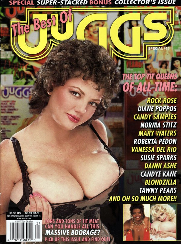 The 2002 Best of Juggs # 25: Top Tit Queens magazine back issue Best of Juggs magizine back copy the best of juggs magazine #25, bonus collector's issue, top tit queens of all time, sexy big boob w