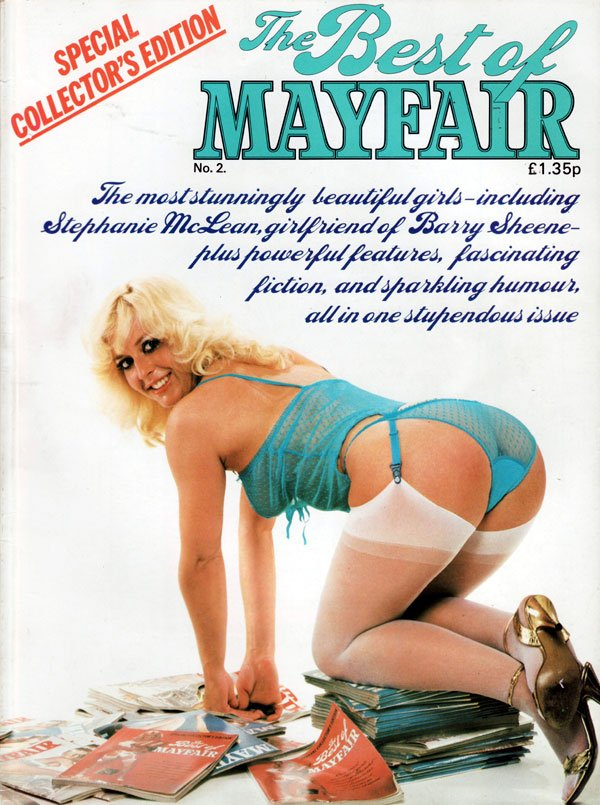 The Best of Mayfair # 2 magazine back issue Best of Mayfair magizine back copy the best of mayfair number 2, special collector's edition, beautiful stunning girls nude, xxx porn g
