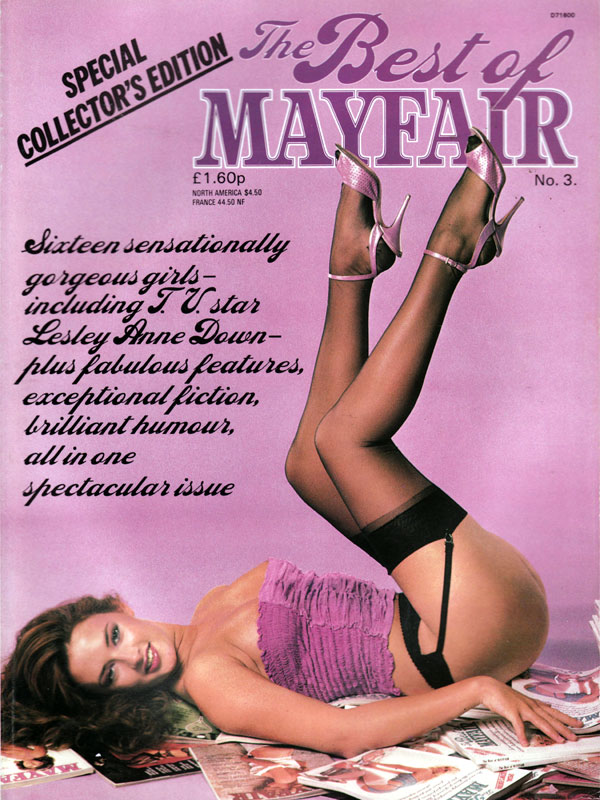 The Best of Mayfair # 3 magazine back issue Best of Mayfair magizine back copy the best of mayfair number 3, special collector's edition, sensationally gorgeous girls, brilliant h