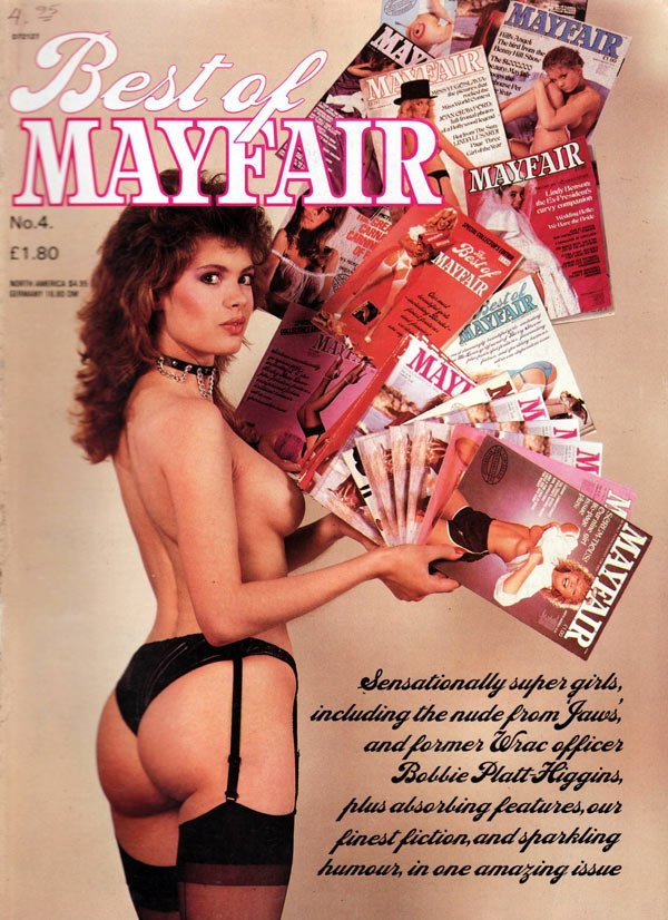 The Best of Mayfair # 4 magazine back issue Best of Mayfair magizine back copy best of mayfair magazine, sexiest women of the united kingdom nude, hot sexy girls, bobbie platt-hig