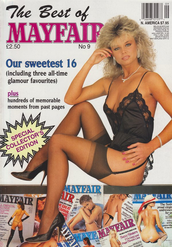 Best of Mayfair # 9 magazine back issue Best of Mayfair magizine back copy