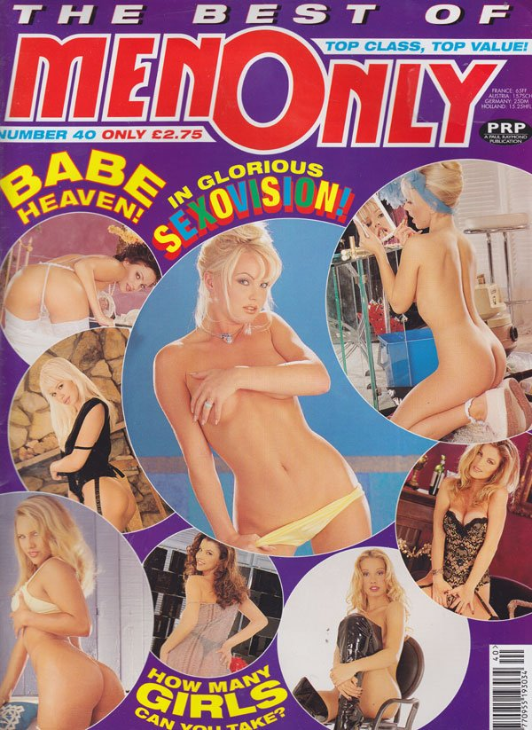Best of Men Only # 40 magazine back issue Best of Men Only magizine back copy the best of men only no 40 1998 back issues babe heaven hot blondes tight asses lesbians wet pussy s