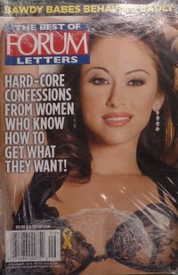 Best of Penthouse Letters # 109, Forum  magazine back issue