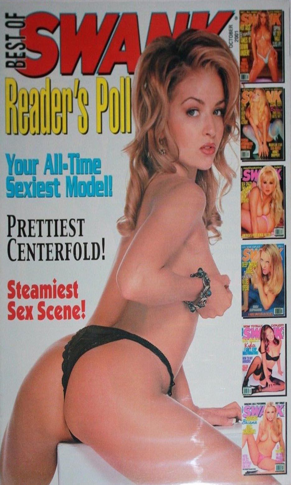 Best of Swank October 2001 magazine back issue Best of Swank magizine back copy