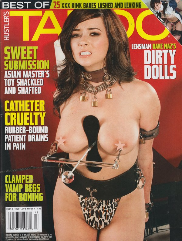Best of Taboo # 21 magazine back issue Best of Taboo magizine back copy sweet submission asian master toy shackled dirty dolls clamped vam begs for boning kink babes lashed